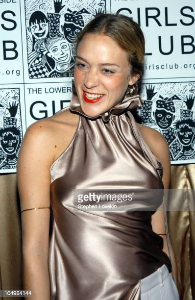 Chloe Sevigny wearing Viktor and Rolf during The Lower Eastside Girls Club's Sixth Annual Willow Awards Benefit and Gala at Capitale in New York City...