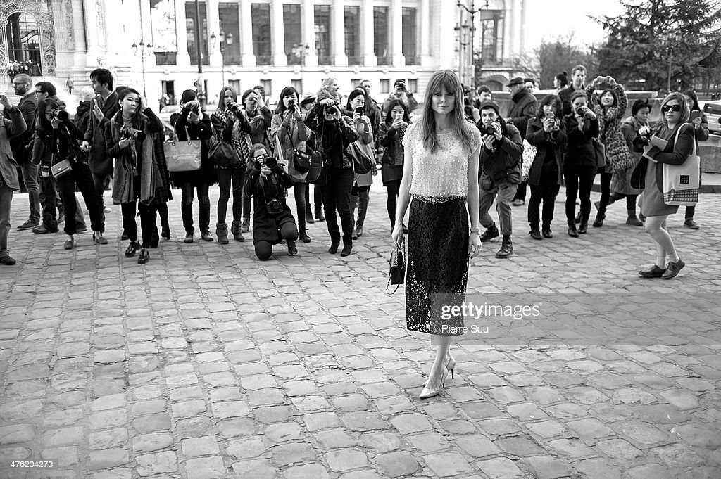 Chloe show show at Paris Fashion Week Womenswear Fall/Winter 2014-2015 on March 2, 2014 in Paris, France.