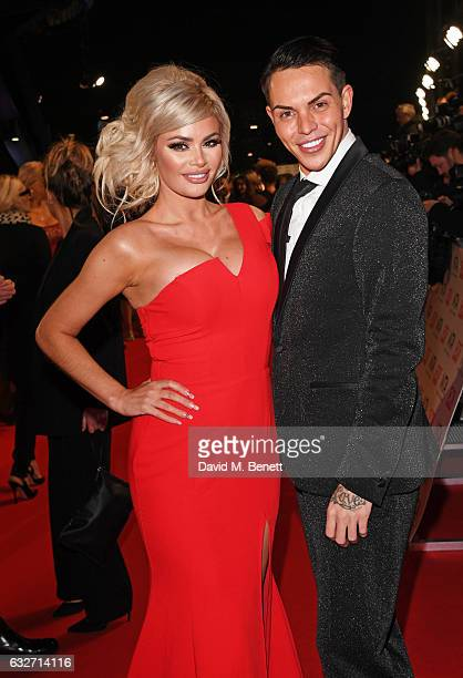Chloe Sims and Bobby Norris attend the National Television Awards on January 25 2017 in London United Kingdom