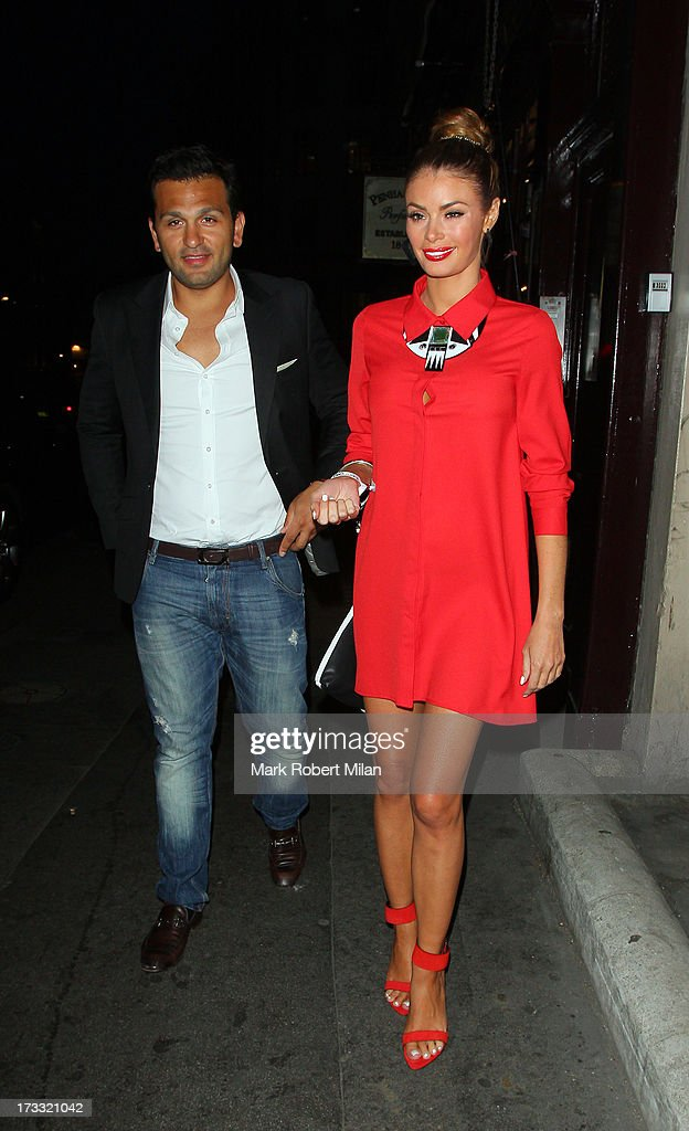 Chloe Sims attending the Infiniti Gate Experience party on July 11, 2013 in London, England.