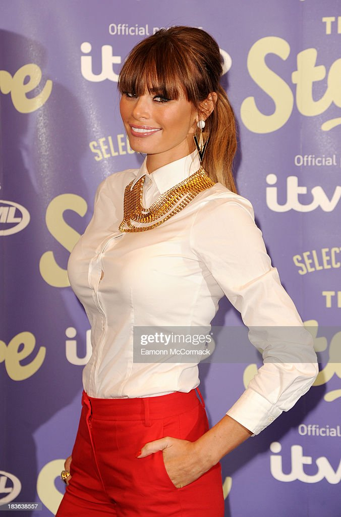 Chloe Sims attends a photocall to launch new shopping channel 'The Store' at BAFTA on October 8, 2013 in London, England.