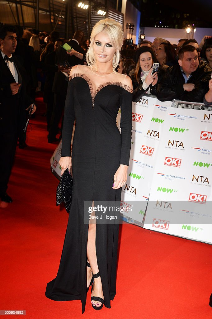 Chloe Sims attends the 21st National Television Awards at The O2 Arena on January 20, 2016 in London, England.