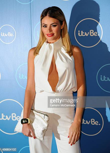 Chloe Sims attends the ITV BE launch at ITV Studios on October 7 2014 in London England