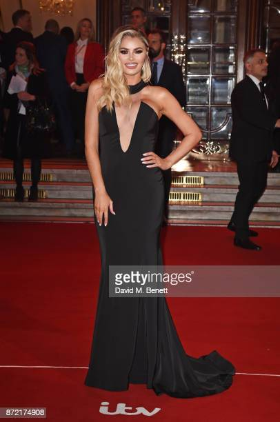 Chloe Sims attends the ITV Gala held at the London Palladium on November 9 2017 in London England