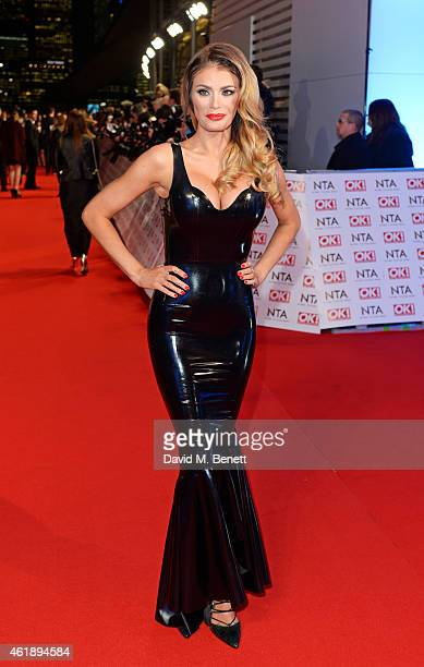 Chloe Sims attends the National Television Awards at 02 Arena on January 21 2015 in London England