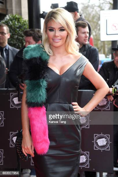 Chloe Sims attends the TRIC Awards 2017 at the Grosvenor House on March 14 2017 in London United Kingdom