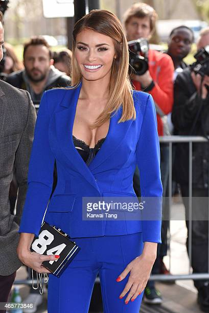 Chloe Sims attends the TRIC Awards at Grosvenor House Hotel on March 10 2015 in London England