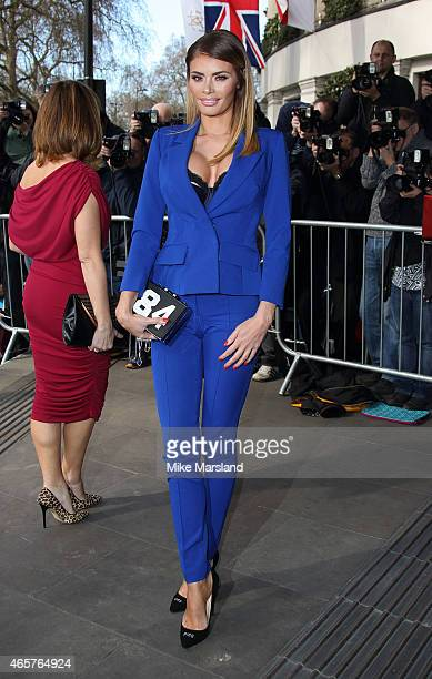 Chloe Sims attends the TRIC Awards on March 10 2015 in London England
