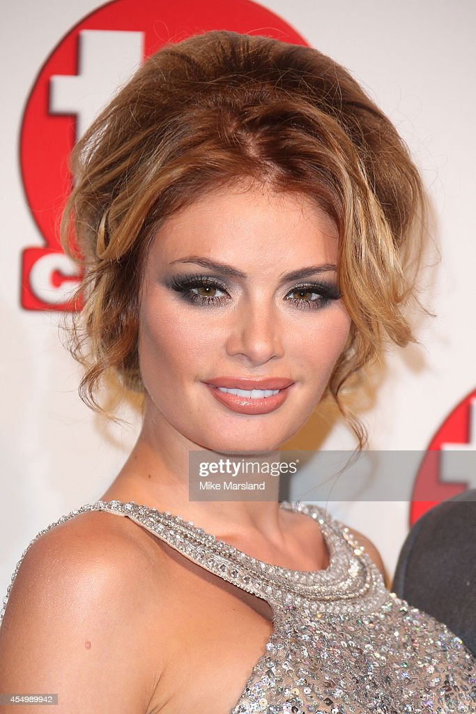 Chloe Sims attends the TV Choice Awards 2014 at London Hilton on September 8 2014 in London England