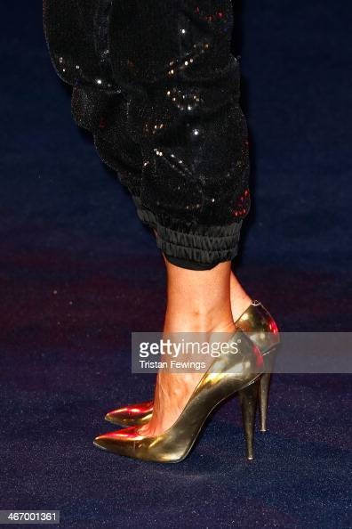 Chloe Sims attends the World Premiere of 'Robocop' at BFI IMAX on February 5 2014 in London England