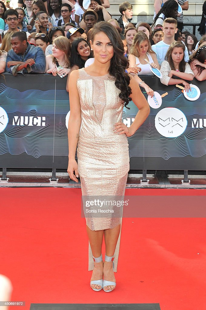 Chloe Wild arrives at the 2014 MuchMusic Video Awards at MuchMusic HQ on June 15, 2014 in Toronto, Canada.