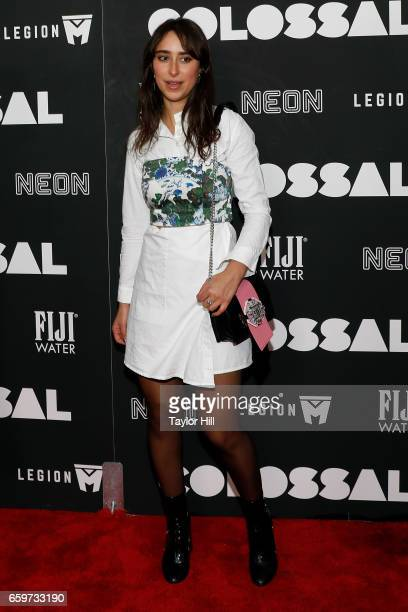 Chloe Wise attends the premiere of 'Colossal' at AMC Lincoln Square Theater on March 28 2017 in New York City