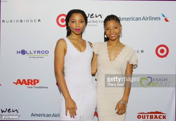 Chloe x Halle at HollyRod Foundation's DesignCare Gala on July 15 2017 in Pacific Palisades California