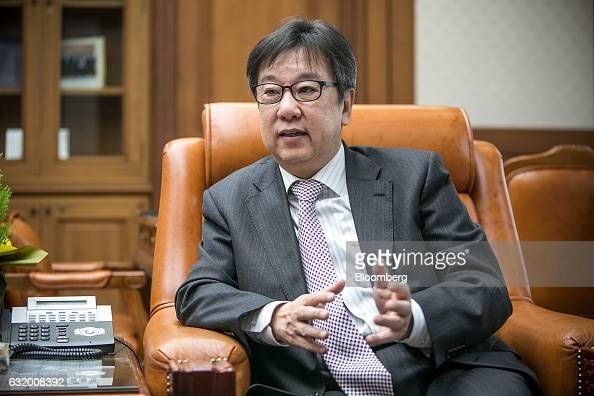 Cho Dongchul board member of the Bank of Korea speaks during an interview at the bank's headquarters in Seoul South Korea on Wednesday Jan 18 2017...