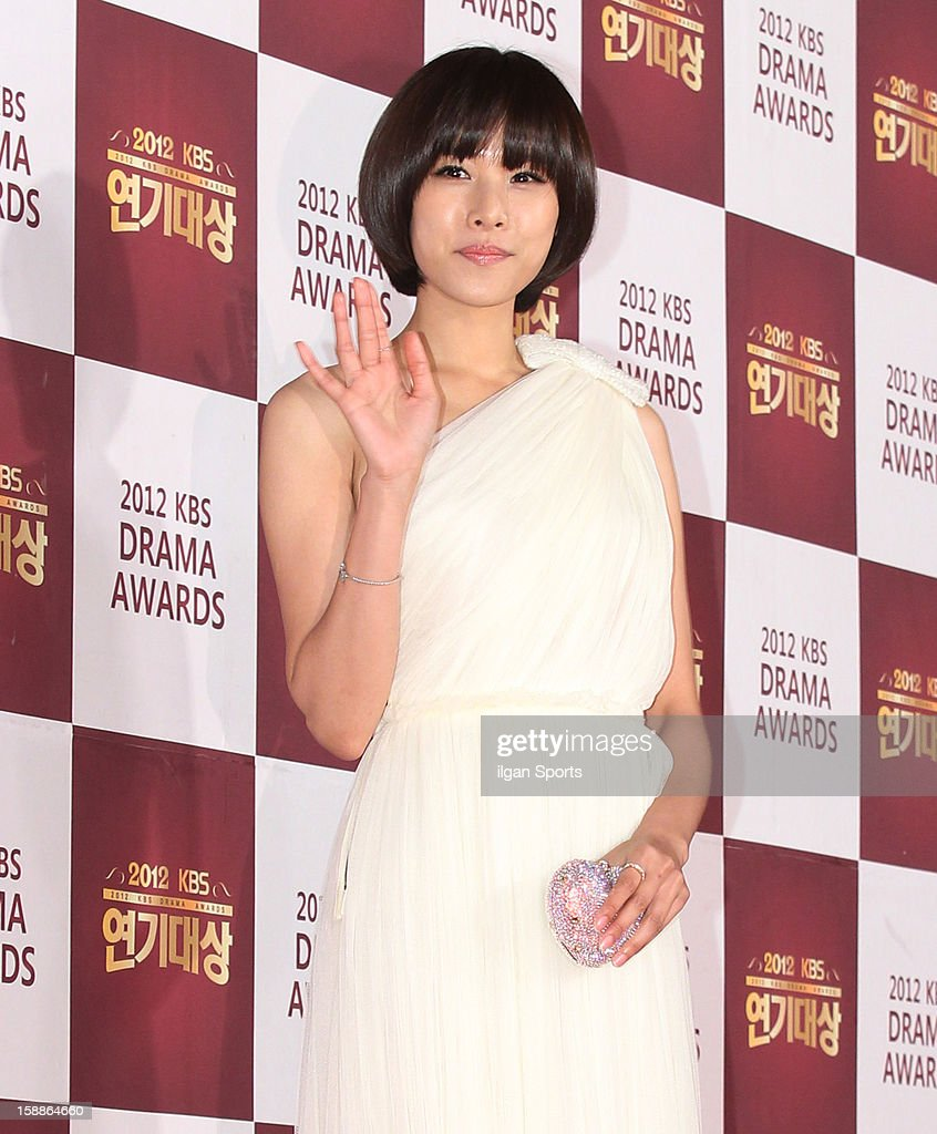 Cho Youn-Hee attends the 2012 KBS Drama Awards at KBS Hall on December 31, 2012 in Seoul, South Korea.
