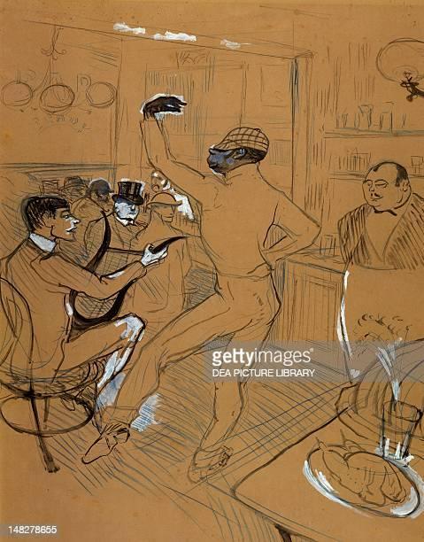 Chocolat Dancing by Henri de Toulouse Lautrec mixed media on cardboard 65x50 cm Albi Musée ToulouseLautrec