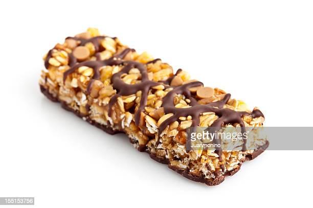 Schokolade und Erdnussbutter-energy bar