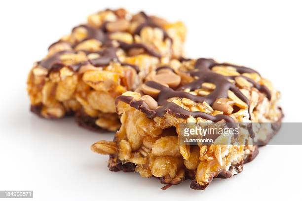 Chocolate and peanut butter energy bar