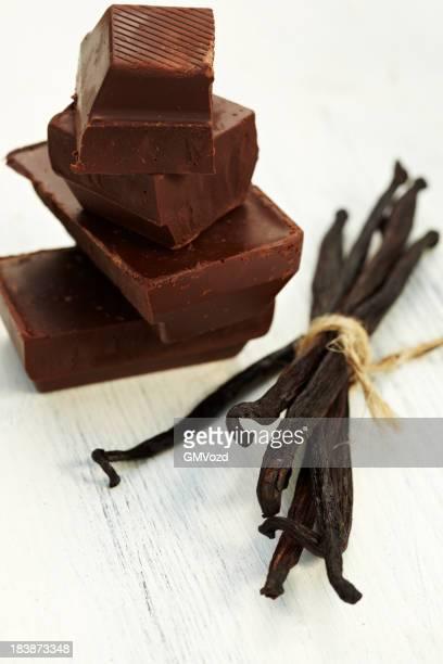 Chocolate and vanilla