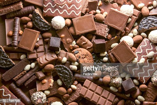 Chocolate background : Stock Photo