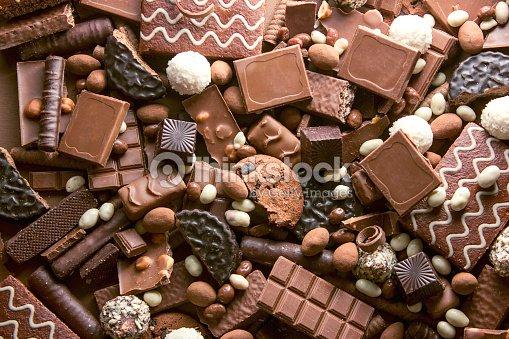 Chocolate background : Stock Photo