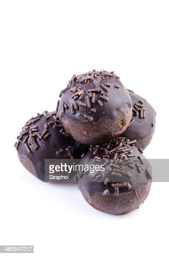 Bolas de Chocolate : Foto de stock