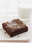 Chocolate Brownie with Milk