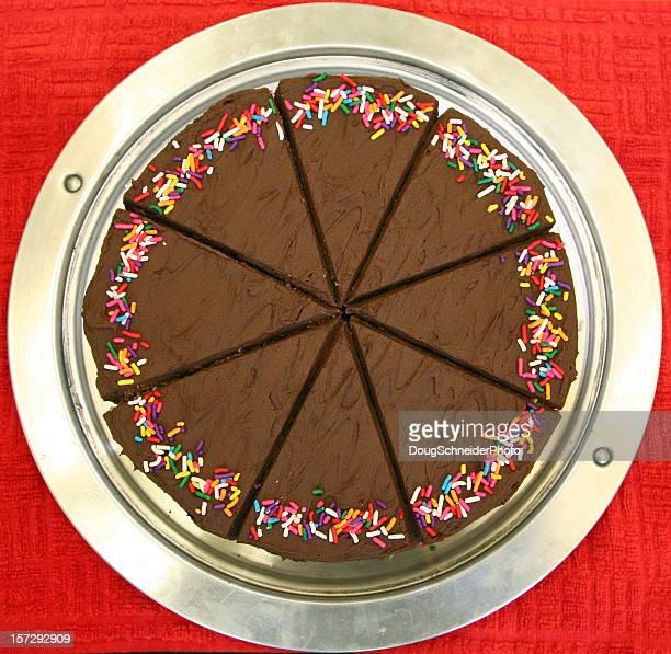 Schokoladenkuchen Scheiben