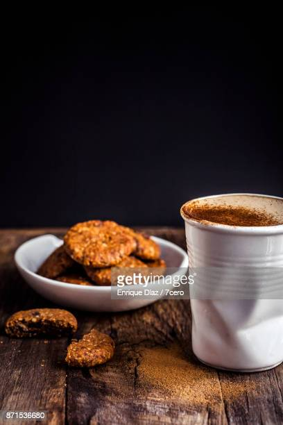 Chocolate Chip Cookies and Coffee Portrait