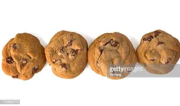 Chocolate Chip Cookies Row