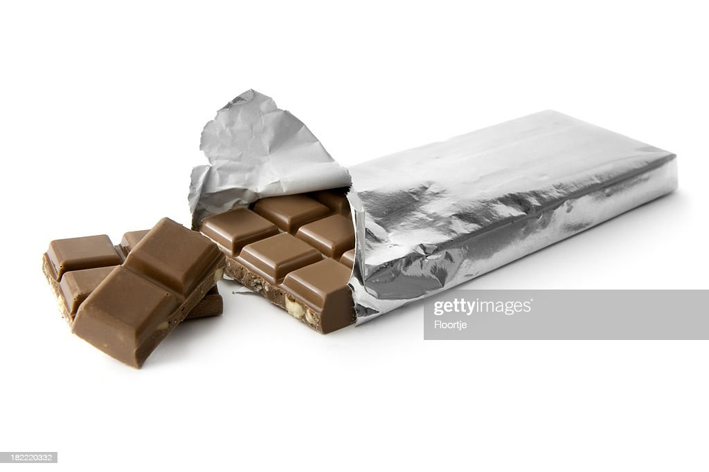 Chocolate: Bar in Silver Foil