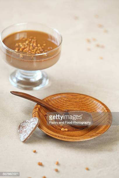 Chocolate coffee panna cotta