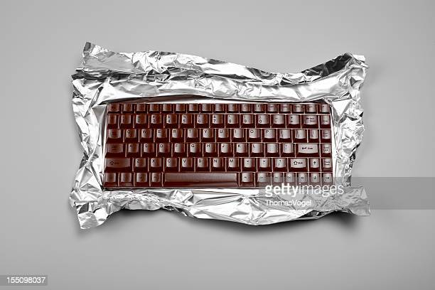 Chocolate Computer Keyboard