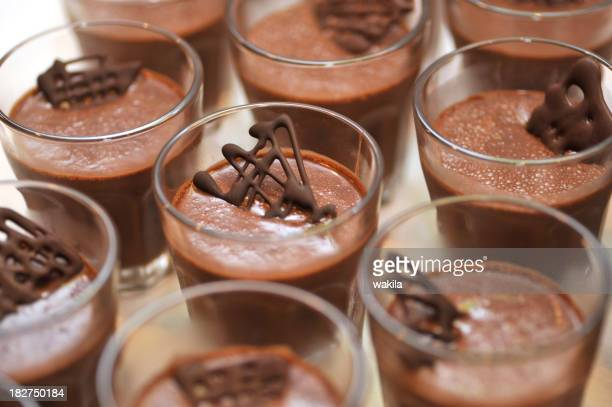 chocolate dessert for many guests