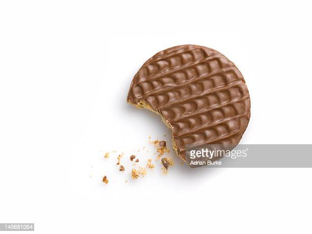 Chocolate Digestive biscuit.