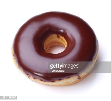 Chocolate Donut + Clipping Path