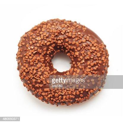 Donut de chocolate : Foto de stock