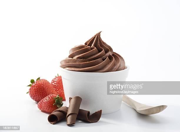 Yaourt Glacé au chocolat XXXL