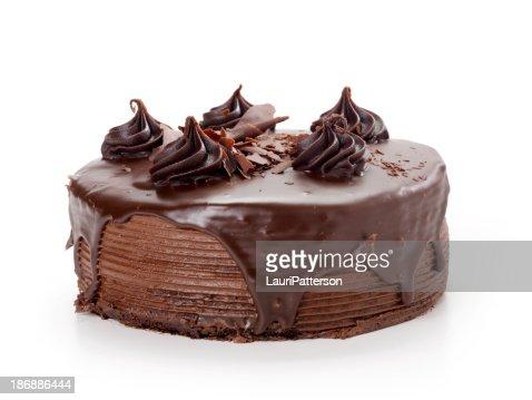 ファッジチョコレートケーキ