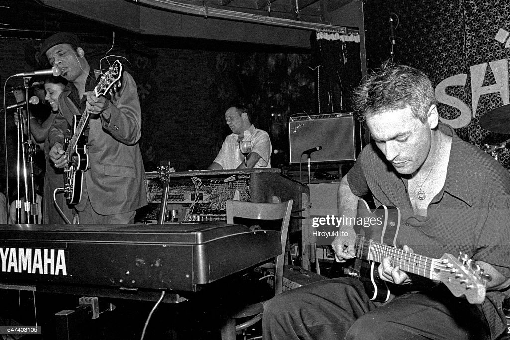 Chocolate Genius performing at Shine on August 12 1998This imageFrom left Chocolate Genius John Medeski and Marc Ribot