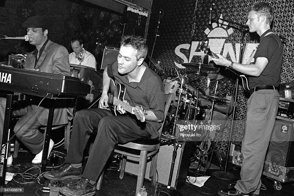 Chocolate Genius performing at Shine on August 12 1998This imageFrom left Chocolate Genius John Medeski Marc Ribot Claude Coleman and Chris Wood
