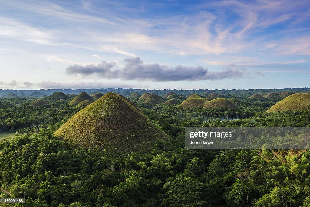 Chocolate Hills Bohol Philippines Stock Photo Getty Images