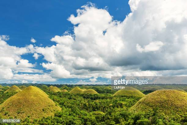 Chocolate Hills, Bohol, Philippines.