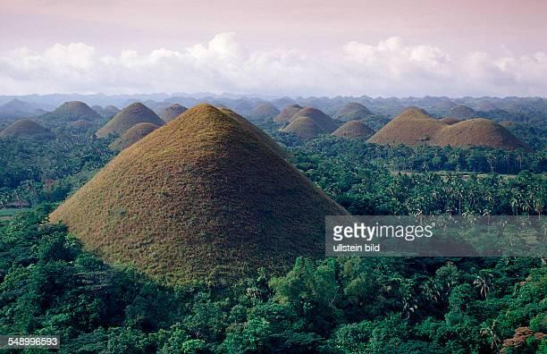 Chocolate Hills Philippinen Bohol Philippines Island