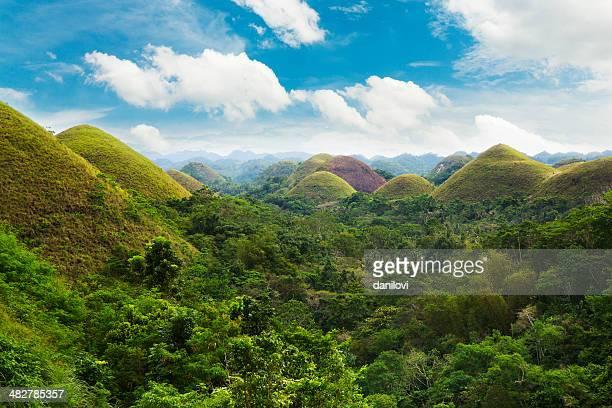 Colline di Bohol