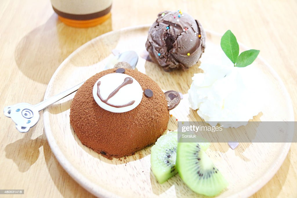 Chocolate Lava Cake : Stock Photo