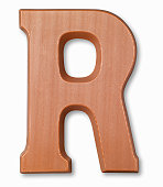 Chocolate letter r