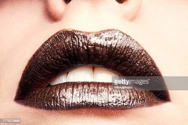 Schokolade Lippen