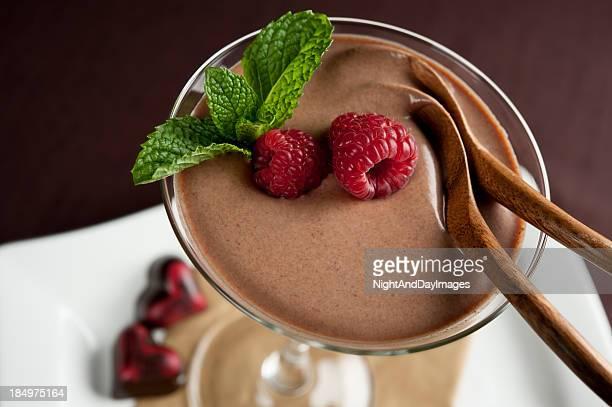 Dessert au chocolat pour deux personnes