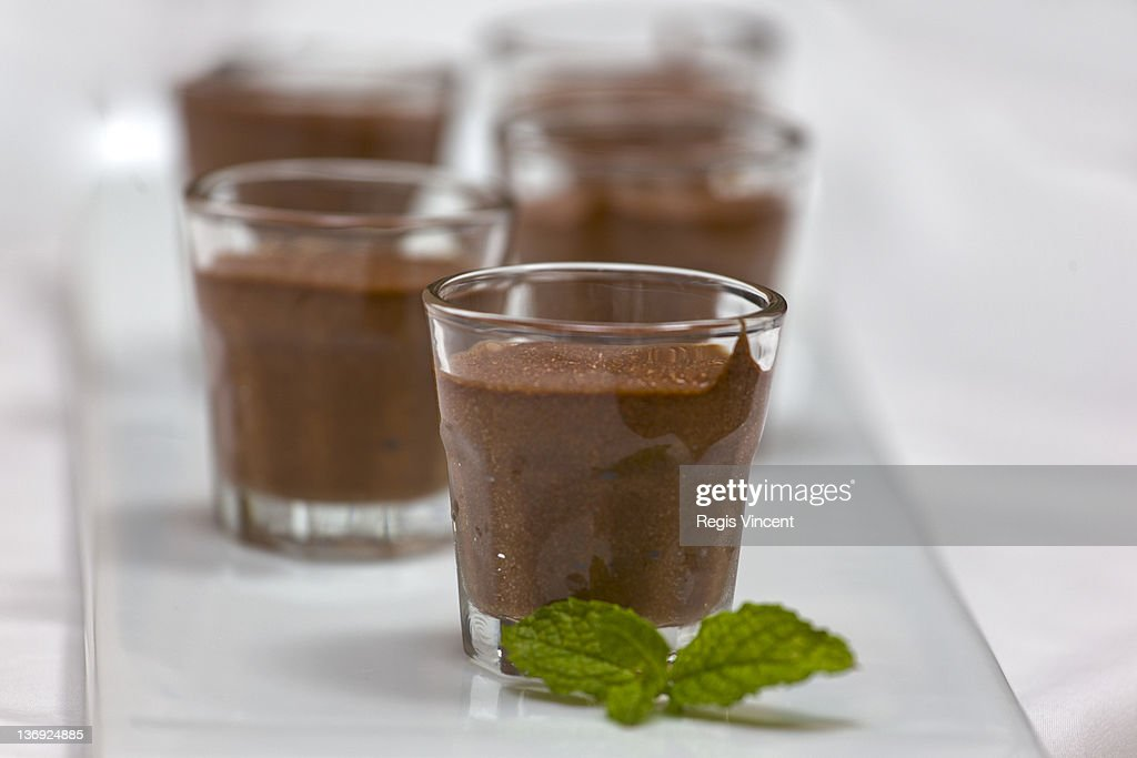 Chocolate mousse : ストックフォト